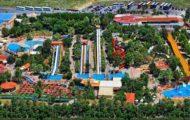 Вид аквапарка
