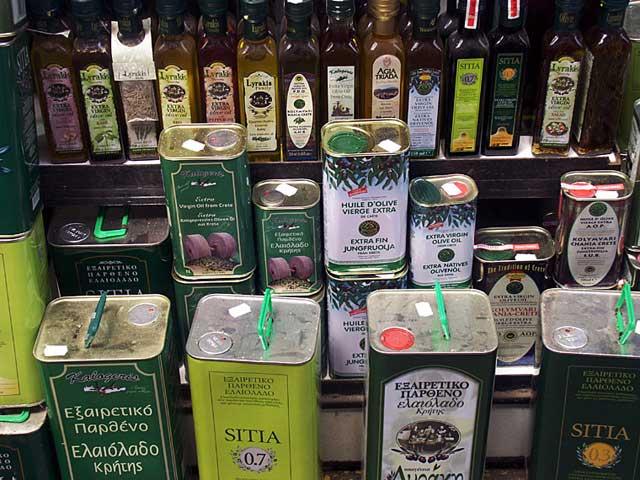 Греция лучшее оливковое масло