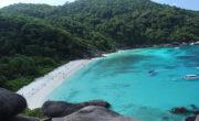 Вид на Симиланские острова