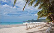 Вид на пляж Чавенг