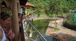 Рыбалка в парке