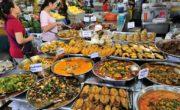 Еда на рынке
