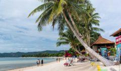 На пляже Чавенг